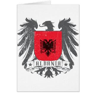 Cartão albaniashield