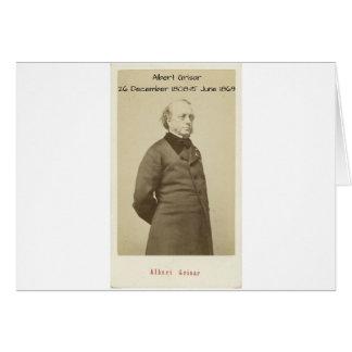 Cartão Albert Grisar