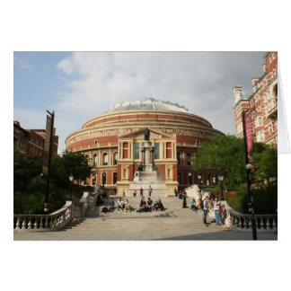 Cartão Albert real Salão, Londres