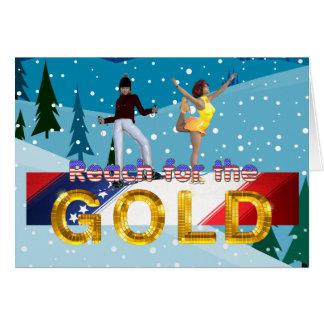 Cartão Alcance SUPERIOR para o ouro