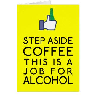 Cartão Alcoólico