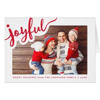 Cartão | alegre boas festas