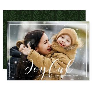 Cartão alegre do feriado da foto das notícias