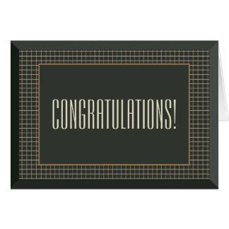 Cartão alegre quadro das felicitações do casamento
