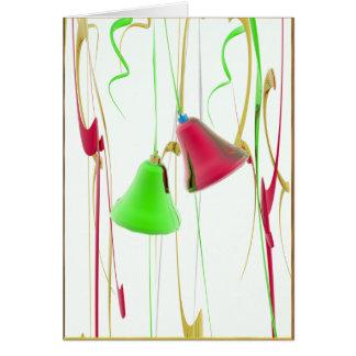 Cartão Alegria de Bell do feriado
