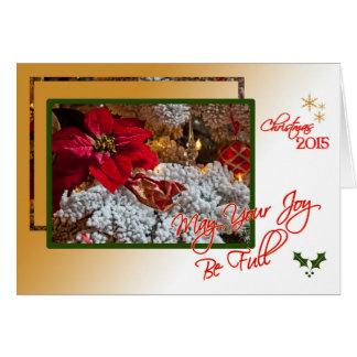 Cartão Alegria do Natal