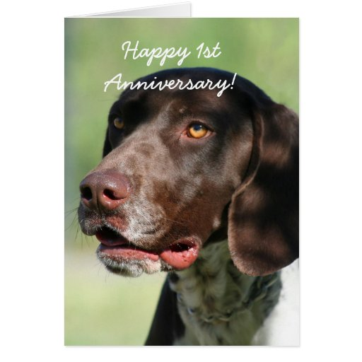Cartão alemão do ponteiro do ø aniversário feliz