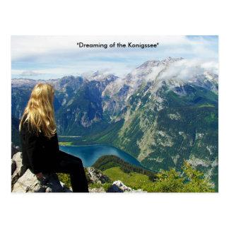 Cartão alemão dos cumes