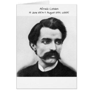 Cartão Alfredo Catalani c1885