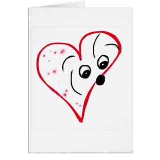 Cartão Algodão de Tulear Amor