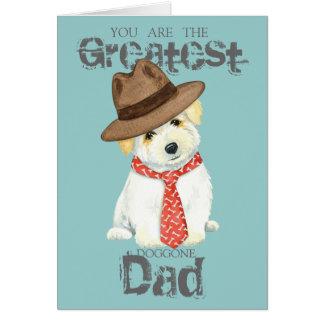 Cartão Algodão de Tulear Pai
