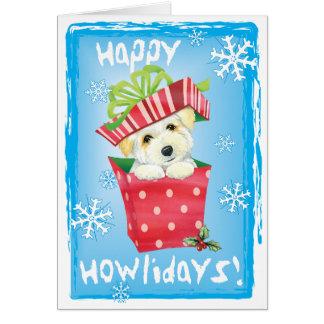 Cartão Algodão feliz de Howliday