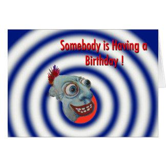 Cartão Alguém está tendo um aniversário!