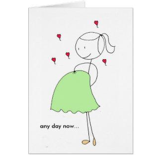 Cartão Algum dia agora