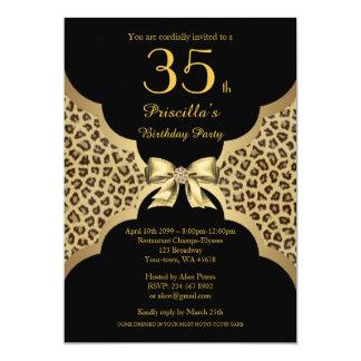 Cartão - Alguma idade editável, festa de aniversário