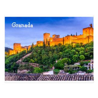 Cartão Alhambra de Granada