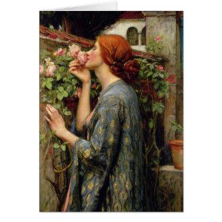 Cartão Alma do rosa por John William Waterhouse