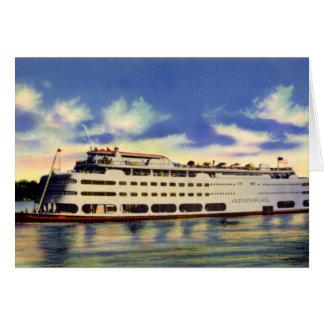Cartão Almirante do navio a vapor de St Louis Missouri