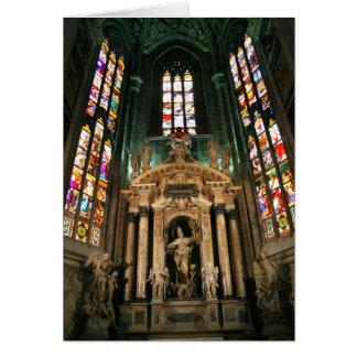Cartão Altar à rua Giovanni Buono