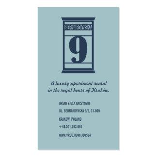 Cartão alugado luxuoso de Krakow Cartão De Visita