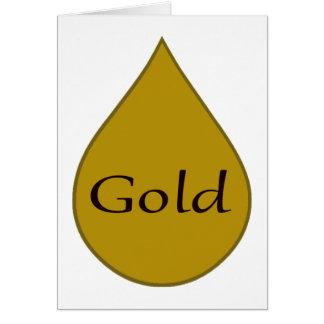 Cartão amamentando do prêmio do ouro 1 ano