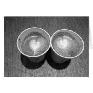 Cartão Amantes do café
