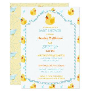 Cartão Amarelo neutro do Aqua do género Ducky de borracha