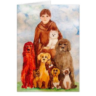 Cartão Ame nossos animais de estimação