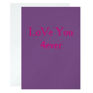 Cartão Ame-o 4ever