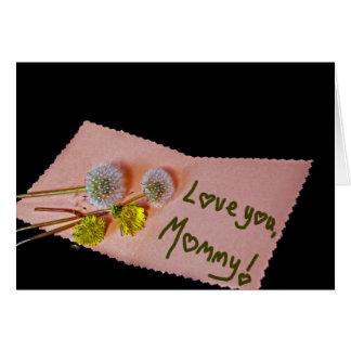 Cartão Ame-o, mamãe