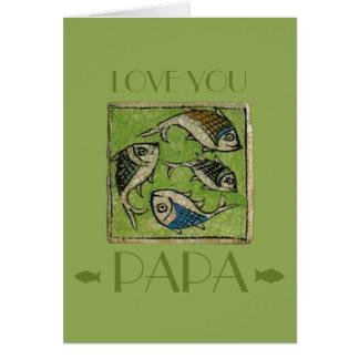 Cartão Ame-o papá