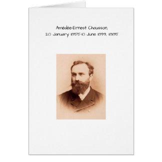 Cartão Amedee-Ernest Chausson