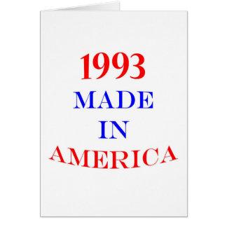 Cartão América 1993