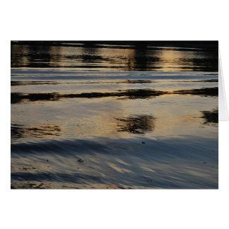 Cartão americano das ondinhas do rio