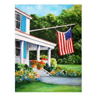 Cartão americano do orgulho