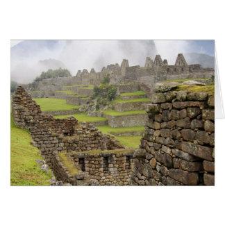Cartão Americas, Peru, Machu PIcchu. O antigo