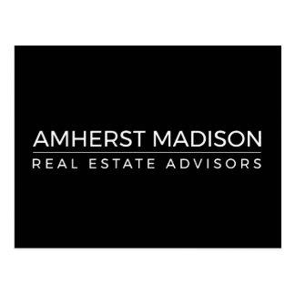 Cartão - Amherst Madison