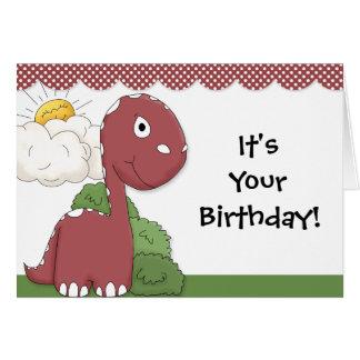 Cartão amigável da coleção da festa de aniversário
