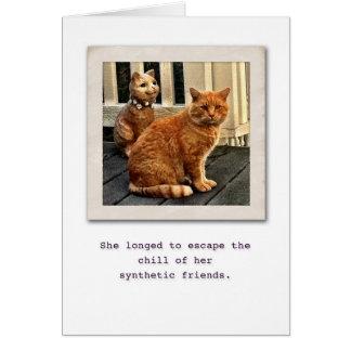 Cartão Amigo real