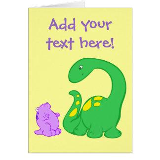 Cartão Amigos de Dino