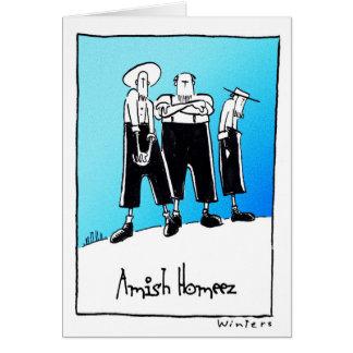 Cartão AmishHomeez