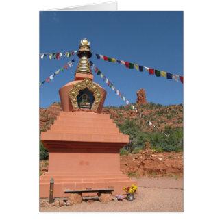 Cartão Amitabha Stupa Sedona