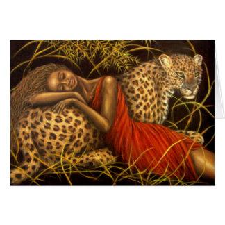 Cartão Amor africano