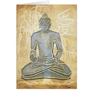 Cartão Amor Buddha