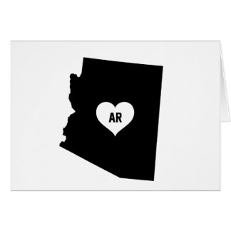 Cartão Amor da arizona