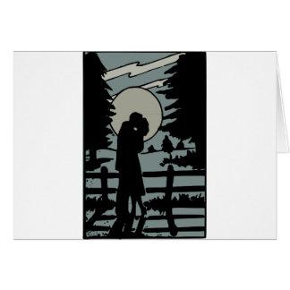 Cartão Amor da noite