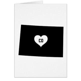 Cartão Amor de Colorado