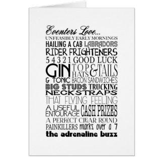 Cartão Amor de Eventers…