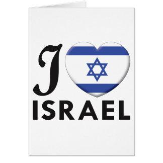 Cartão Amor de Israel