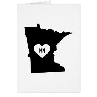 Cartão Amor de Minnesota